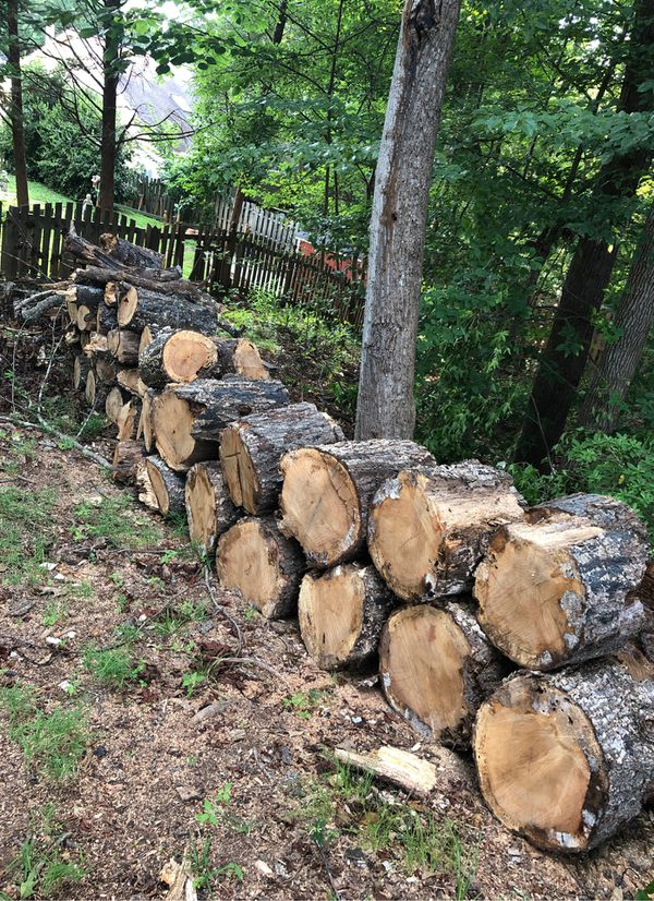 Free firewood. You pick up and load.