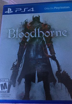two ps4 games bloodborne and destiny 2 for Sale in Duncannon, PA