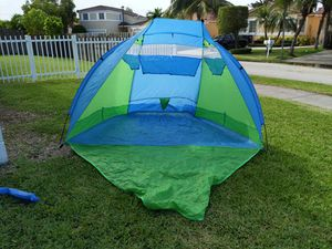 Abo GearInsant Tent Beach Shelter Cabana for Sale in Miami, FL