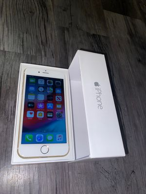 iPhone 6 gold T-Mobile MetroPCS inbox PRICE IS FIRM NO OFFERS for Sale in Las Vegas, NV