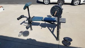 Marcy weight bench for Sale in Huntington Beach, CA