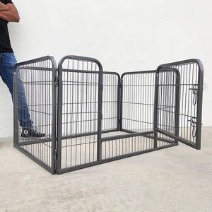 """(NEW) $75 Heavy Duty 49""""x32""""x28"""" Pet Playpen Dog Crate Kennel Exercise Cage Fence, 4-Panels for Sale in El Monte, CA"""