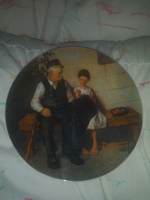 Norman Rockwell collectors plate perfect condition Limited in number for Sale in Fort Wayne, IN