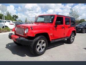 2017 jeep Wrangler Sahara for Sale in Miami, FL