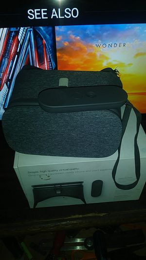 Brand new Google day dream Virtual Reality headset and sensor controller for Sale in Martinez, CA
