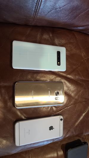 Samsung S10. Samsung S7. IPHONE s6 for Sale in Wheat Ridge, CO