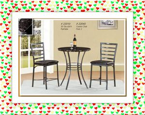 3pc bar pub Table set for Sale in NEW CARROLLTN, MD