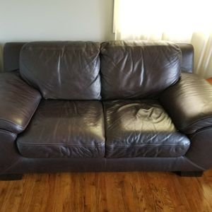 Leather Love Seat for Sale in Portland, OR