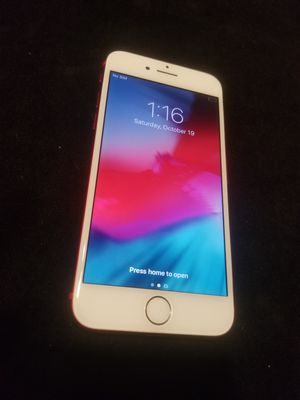 iphone 7 red 128GB FACTORY UNLOCK for Sale in Miami, FL