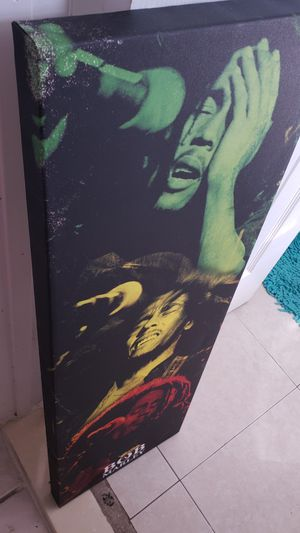 "Bob Marley Picture 36""×12"" for Sale in Hollywood, FL"