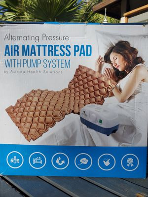 $60 ASTRATA AIR MATRESS PAD WITH PUMP for Sale in Las Vegas, NV