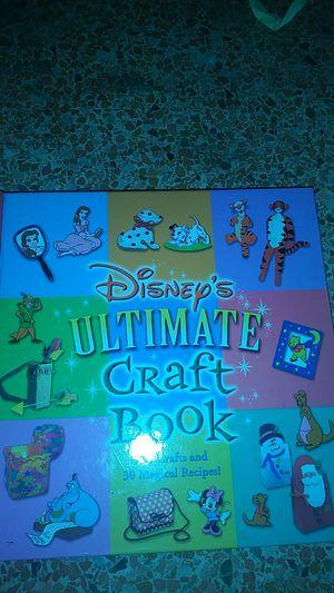 Disney craft book for Sale in Lakeland, FL