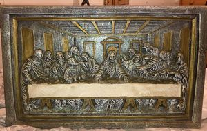 STONE PLAQUE OF THE LAST SUPPER for Sale in Sanger, CA
