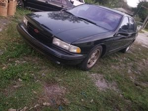 1996 chevy impala ss very fast needs paint job will trade for a pick up truck for Sale in Miami, FL