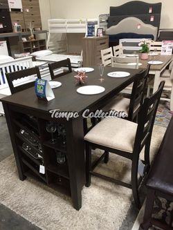 Victoria 5 PC Counter Height Dining Set, SKU# ASHD397TC for Sale in Norwalk,  CA