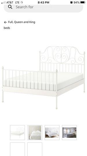 LEIRVIK IKEA FULL BED FRAME for Sale in Anna, TX