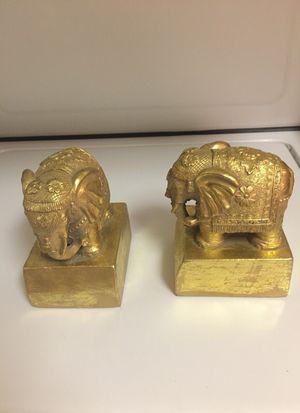 SPI vintage loving elephant bookends for Sale in Baltimore, MD