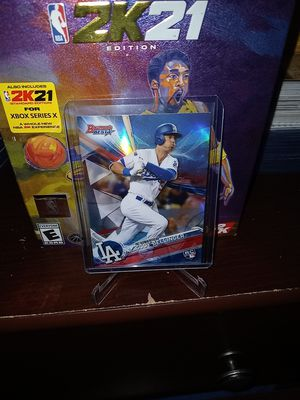 2017 Topps Bowman Best Baseball! Hot Rookie Cody Bellinger 'Refractor' Card! for Sale in City of Industry, CA
