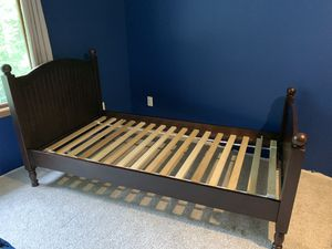 Pottery barn twin bed with mattress for Sale in Issaquah, WA