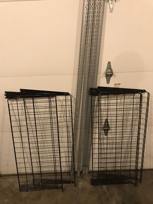 Wall brackets + Shelves for Sale in Indianapolis, IN