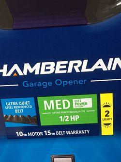 Chamberlain 0.5 Garage Door Opener—new for Sale in Paramus,  NJ