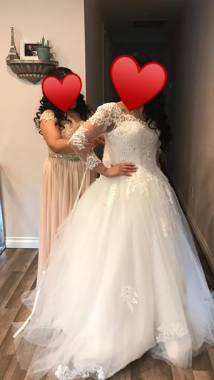Wedding dress size 8 for Sale in Portland, OR