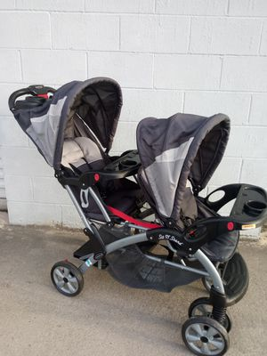 Baby Trend Sit & Stand Double Stroller for Sale in Murfreesboro, TN