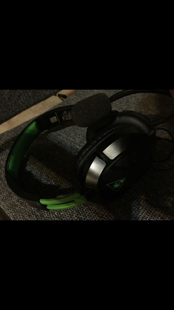 Recon 50x xbox one headset ps4 pc turtle beach