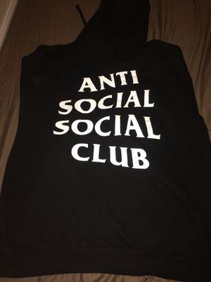 ANTI SOCIAL SOCIAL CLUB HOODIE💢💢 for Sale in Elmwood Park, IL
