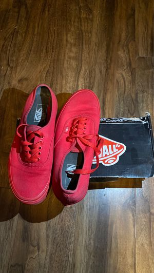 Red Vans (7 M) for Sale in Aubrey, TX