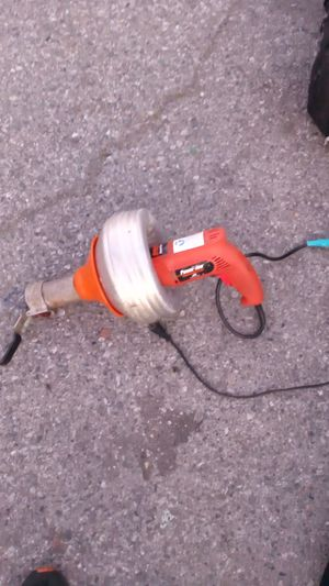 pip drain cleaning drill electric & manually for Sale in Mountain View, CA