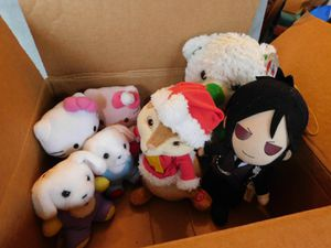 Box of stuffed animals for Sale in Mesquite, TX