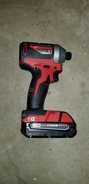 Milwaukee impact drill for Sale in Boyds, MD