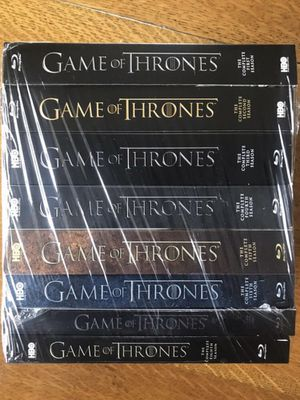 Game of Thrones 1-8: The Complete Series Collector's Edition Blu-Ray NEW, Disney marvel Harry Potter DC movies 3D Bluray and dvd collector's for Sale in Everett, WA