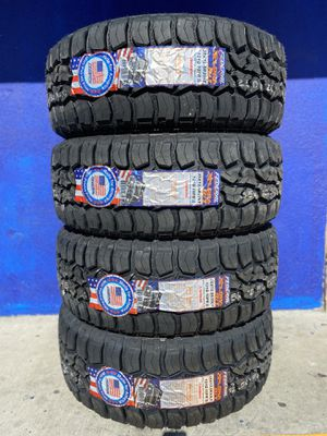 35X12.50R20 FOUR BRAND NEW TIRES , INSTALLATION & BALANCING INCLUDED for Sale in Rialto, CA