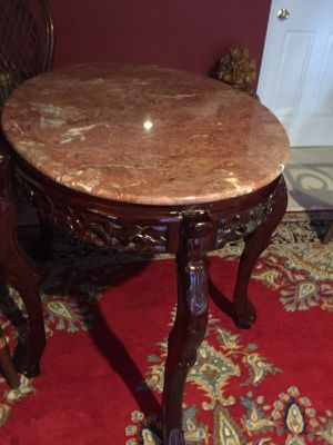Beautiful marble table for Sale in Ashburn, VA