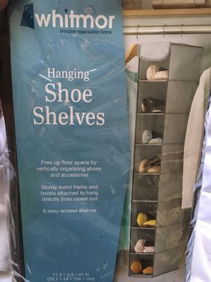 Hanging Shoe Shelve. Brand new. for Sale in Moreno Valley, CA