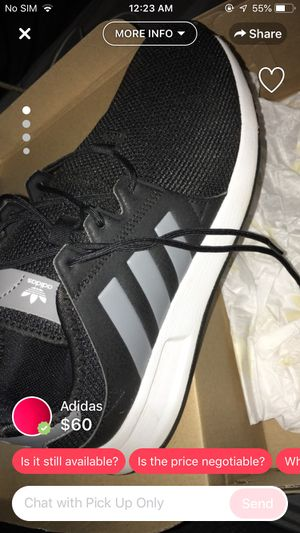 Adidas size 5 1/2 for Sale in Fresno, CA