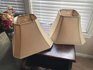 Two lamp shades for Sale in Owings Mills, MD