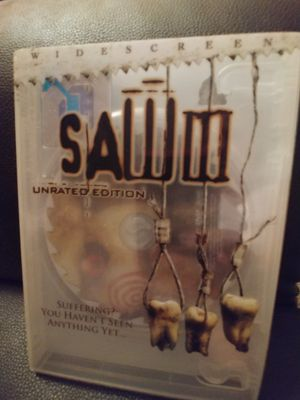 Saw III Unrated Edition Dvd for Sale in Greensburg, PA
