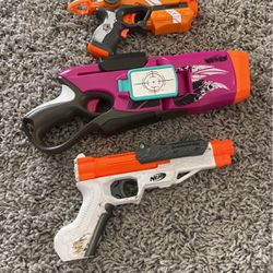 3 Set Nerf Guns Good Condition for Sale in San Jose,  CA