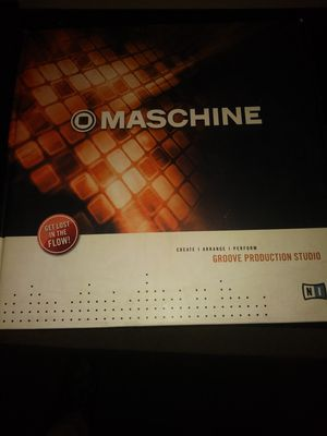 Native Instrument MACHINE (Groovebox) New for Sale in Houston, TX