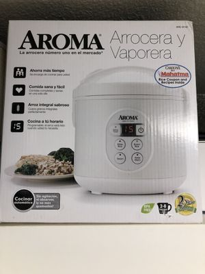 Aroma Housewares 8-Cup (Cooked) (4-Cup UNCOOKED) Digital Rice Cooker and Food Steamer for Sale in Waipahu, HI