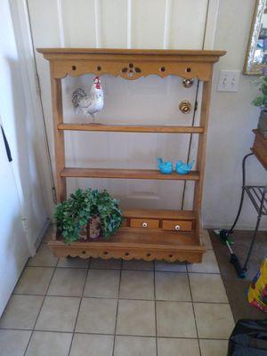 Farmhouse shelf/hutch for Sale in Huntington Beach, CA