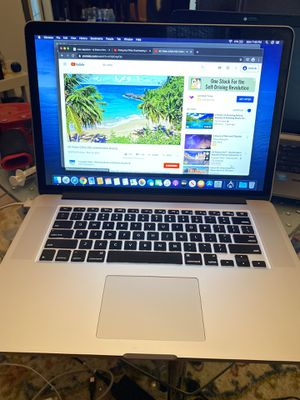 MacBook Pro 2014 core i7 500gb SSd 16 gb ram OSCatalina latest update OEM Charger for Sale in Gardena, CA