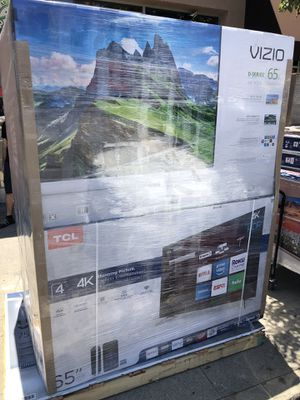 65 inch 4K TV party Tcl Vizio Roku for Sale in Altadena, CA