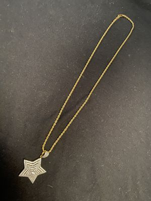 Stars Diamond Rope chain Gold plated for Sale in Philadelphia, PA