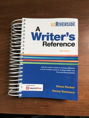 a writers reference 9th edition launchpad