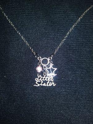 Silver pendant necklace for Sale in Denver, CO