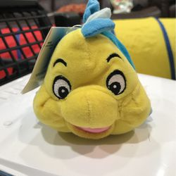 """The Disney Store Mini Bean Bag Flounder 7"""" Little Mermaid Plush New With Tags for Sale in Fairfax,  VA"""
